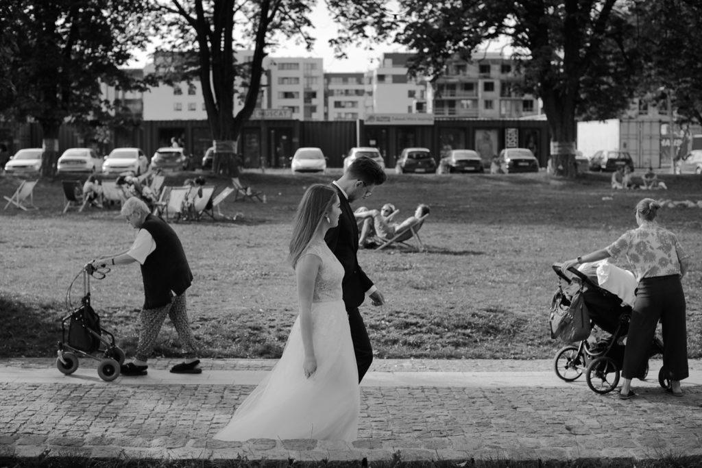 ślubna sesja plenerowa Stary Maneż Gdańsk