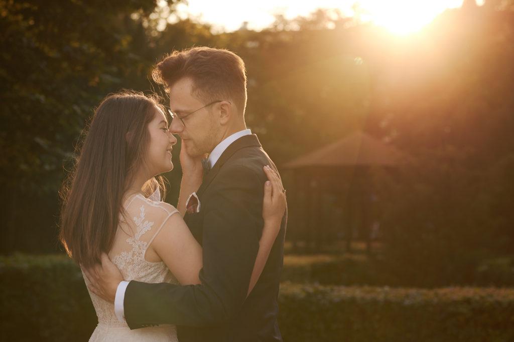 Zdjęcia ślubne w Parku Kuźniczki - Gdańsk