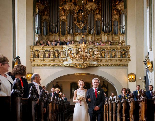 ślub u Dominikanów w Gdańsku