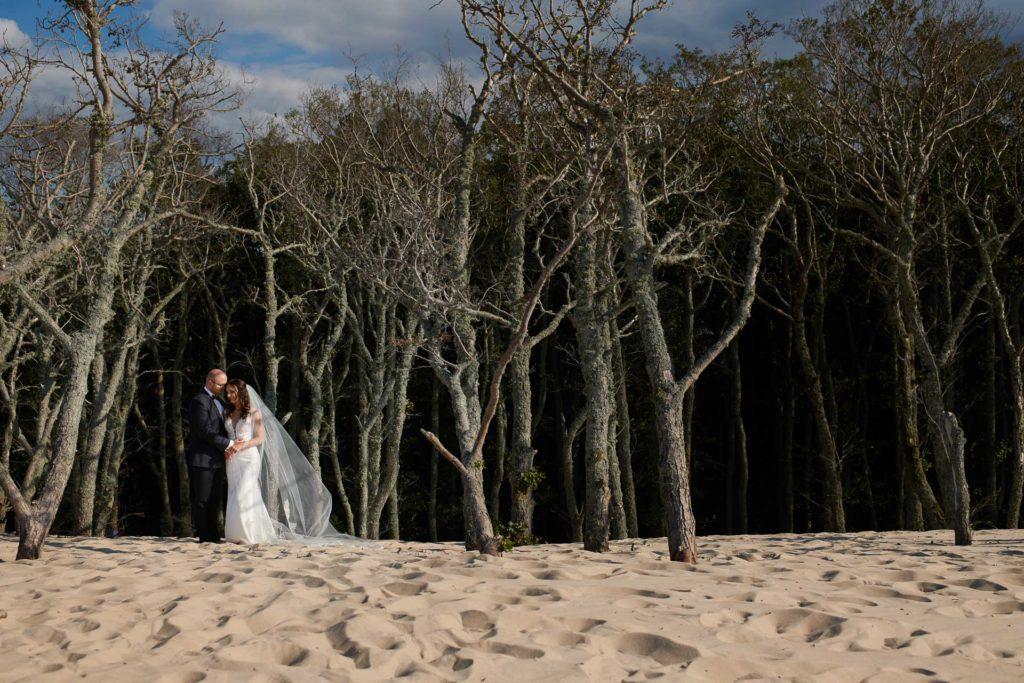 sesja ślubna na wydmach w Łebie
