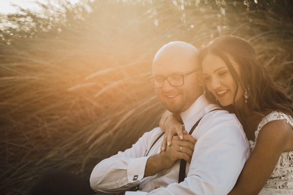 zdjęcia ślubne na wydmach