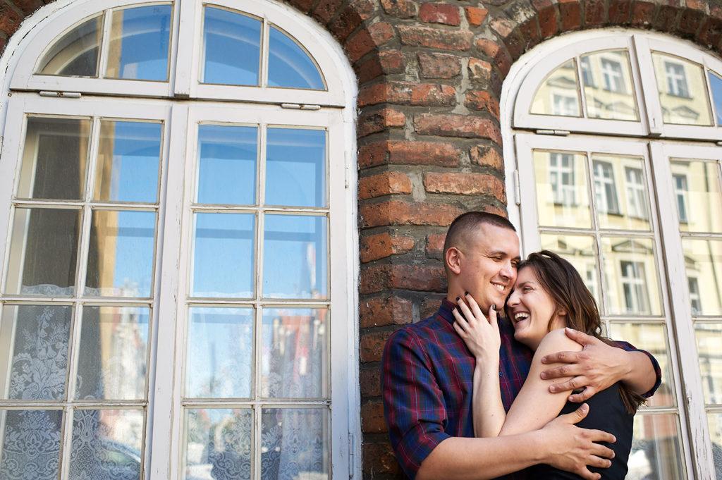 sesja narzeczeńska Gdańsk Stare Miasto